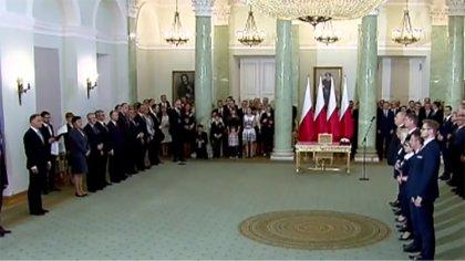 Ostrów Mazowiecka - Prezydent Andrzej Duda mianował nowych ministrów rządu Mateu