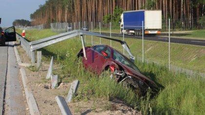 Ostrów Mazowiecka - Dziś po godzinie 14 doszło do wypadku na drodze krajowej nr