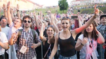 Ostrów Mazowiecka - Energetycznym koncertem zakończył się Tydzień Kultury Studen