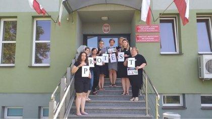 Ostrów Mazowiecka - Dziś doszło do zapowiadanego od dawna zaostrzenia protestu p