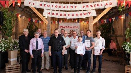 Ostrów Mazowiecka - W pięknie udekorowanej stodole na przykościelnym placu w And