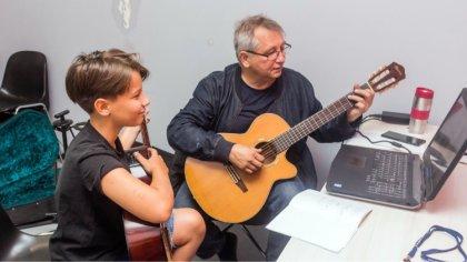 Ostrów Mazowiecka - Janusz Spaulenok, zawodowy muzyk z doświadczeniem pedagogicz