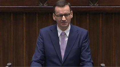 Ostrów Mazowiecka - Premier Mateusz Morawiecki przedstawił w Sejmie projekt usta