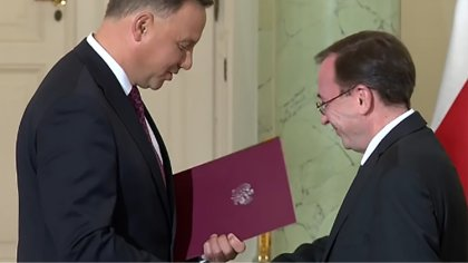 Ostrów Mazowiecka - Koordynator służb specjalnych Mariusz Kamiński został mianow
