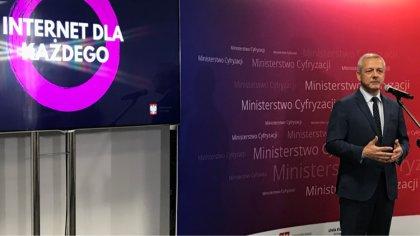 Ostrów Mazowiecka - 120 mln złotych - to kwota, którą Ministerstwo Cyfryzacji pr