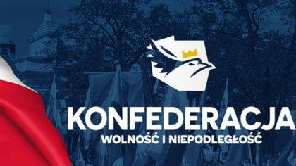 Ostrów Mazowiecka - Komitet Wyborczy Konfederacja Wolność i Niepodległość zareje