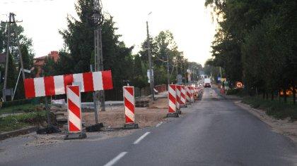 Ostrów Mazowiecka - Remont ulicy Nurskiej w Małkini Górnej na który gminna pozys