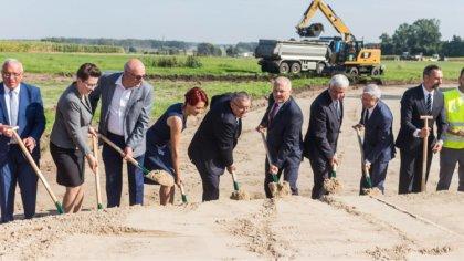 Ostrów Mazowiecka - Na odcinku budowy przyszłej S61 na odcinku Śniadowo - Podbor