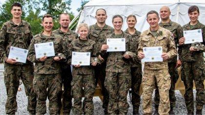 Ostrów Mazowiecka - Żołnierze wojsk obrony terytorialnej, którzy przez ponad dwa