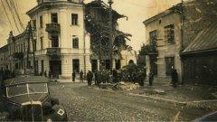 Ostrów Mazowiecka - Wojska niemieckie zajęły Ostrów Mazowiecką na pocz
