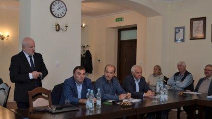Ostrów Mazowiecka - W sali konferencyjnej Urzędu Miasta i Gminy Brok 25 września