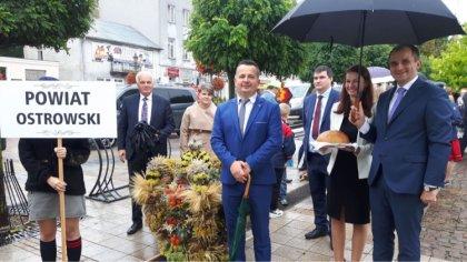 Ostrów Mazowiecka - Dożynki Mazowsza odbywały się w tym roku w Ciechanowie. Na w