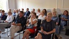 Ostrów Mazowiecka - W sali konferencyjnej ostrowskiego starostwa odbyło się szko