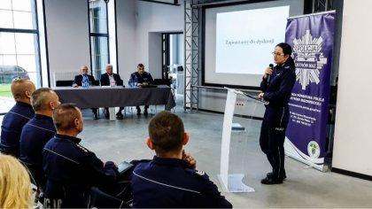Ostrów Mazowiecka - Komenda Powiatowa Policji w Ostrowi Mazowieckiej wspólnie z