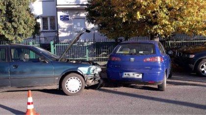 Ostrów Mazowiecka - Do zderzenia dwóch samochodów osobowych doszło w czwartkowy