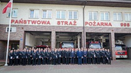 Ostrów Mazowiecka - W Komendzie Powiatowej Państwowej Straży Pożarnej w Ostrowi