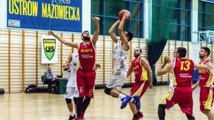 Ostrów Mazowiecka - W kolejnej kolejce II ligi koszykówki mężczyzn dobrze spisuj