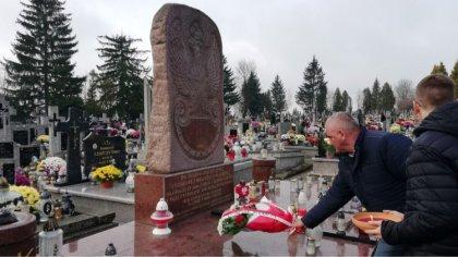 Ostrów Mazowiecka - W Andrzejewie z okazji 101 rocznicy odzyskania przez Polskę
