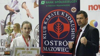 Ostrów Mazowiecka - Reprezentanci Ostrowskiego Klubu Karate Kyokushin rywalizowa