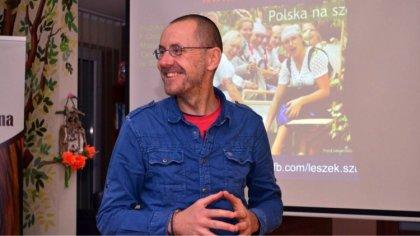 Ostrów Mazowiecka - Podróżnik Leszek Szczasny był gościem Biblioteki Publicznej