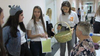 Ostrów Mazowiecka - Dzień Życzliwości dla Szkolnego Koła Wolontariatu w Ekonomik