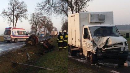 Ostrów Mazowiecka - W wyniku wypadku do jakiego doszło w piątek na drodze krajow