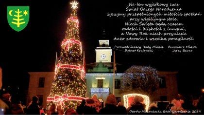 Ostrów Mazowiecka - Na ten wyjątkowy czas Świąt Bożego Narodzenia życzymy przepe