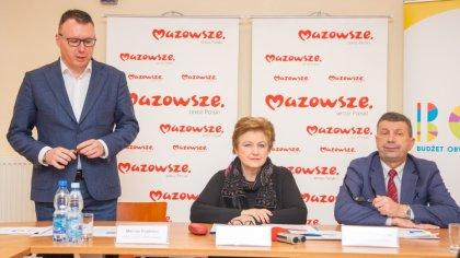 Ostrów Mazowiecka - Zarząd Województwa Mazowieckiego w związku obowiązującym w P