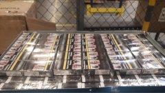 Ostrów Mazowiecka - 263 tysięcy sztuk papierosów o wartości ponad 300