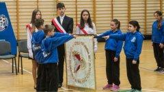 Ostrów Mazowiecka - Młodzi uczniowie z klasy sportowej Szkoły Podstawo