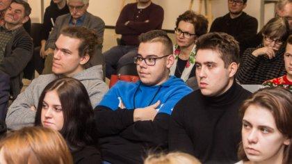 Ostrów Mazowiecka - W budynku starej elektrowni odbyło się kolejne spotkanie z c