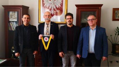 Ostrów Mazowiecka - Delegacja szkoły gastronomiczno-hotelarskiej z tureckiego Ke