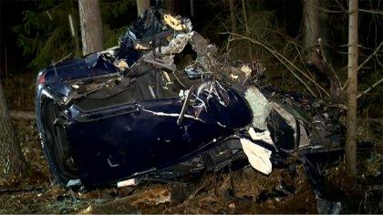 Ostrów Mazowiecka - Dwie osoby nie żyją w wyniku wypadku na drodze krajowej nr 8