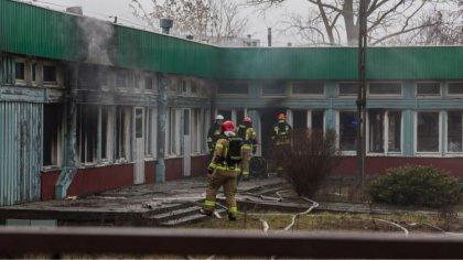 Ostrów Mazowiecka - W nieużytkowanym budynku po byłej szkole podstawowej przy ul