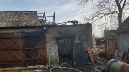 Ostrów Mazowiecka - Podczas dzisiejszego przedpołudnia doszło do pożaru budynku
