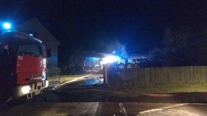 Ostrów Mazowiecka - W Kaczkowie Nowym w ostatnią środę 4 marca doszło do pożaru