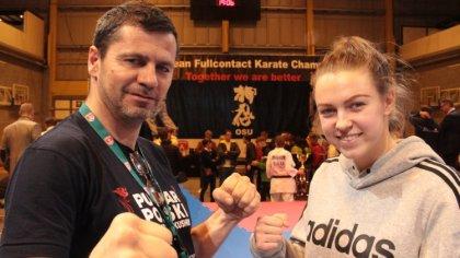 Ostrów Mazowiecka - Styczeń i luty w Ostrowskim Klubie Karate Kyokushinkai okaza