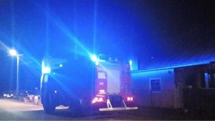 Ostrów Mazowiecka - Do pożaru sadzy w przewodzie kominowym doszło w jednym z bud