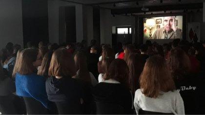 Ostrów Mazowiecka - W budynku starej elektrowni w ramach Przystanku Historia, os