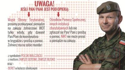 Ostrów Mazowiecka - W ramach walki z pandemią koronawirusa żołnierze wojsk obron