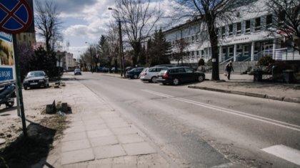 Ostrów Mazowiecka - W naszym mieście trwają liczne prace remontowe i budowlane p