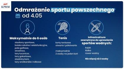 Ostrów Mazowiecka - Od poniedziałku 4 maja zostaną udostępnione obiekty infrastr