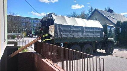 Ostrów Mazowiecka - Żołnierze wojsk obrony terytorialnej, w piątek 17 kwietnia,