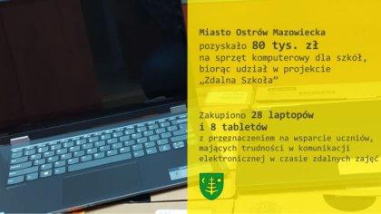 Ostrów Mazowiecka - Miasto Ostrów Mazowiecka pozyskało, w ramach projektu