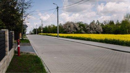 Ostrów Mazowiecka - Dokonano odbioru ostatniego odcinka ulicy Łącznej w Ostrowi