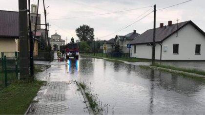 Ostrów Mazowiecka - Wczoraj w powiecie ostrowskim doszło do intensywnych opadów