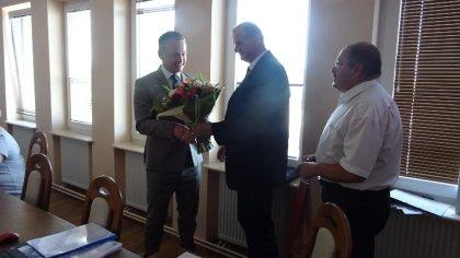 Ostrów Mazowiecka - Podczas ostatniej Rady Gminy Nur Wójt Rafał Kruszewski otrzy