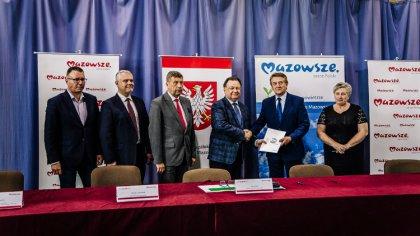 Ostrów Mazowiecka - Wójt Gminy Stary Lubotyń Ireneusz Gumkowski oraz Skarbnik Gm