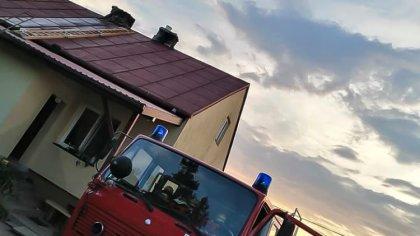 Ostrów Mazowiecka - Kilka jednostek Ochotniczej Straży Pożarnej walczyło z pożar