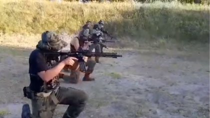 Ostrów Mazowiecka - Pluton Strzelecki Związku Piłsudczyków Okręgu Ciechanów stwo